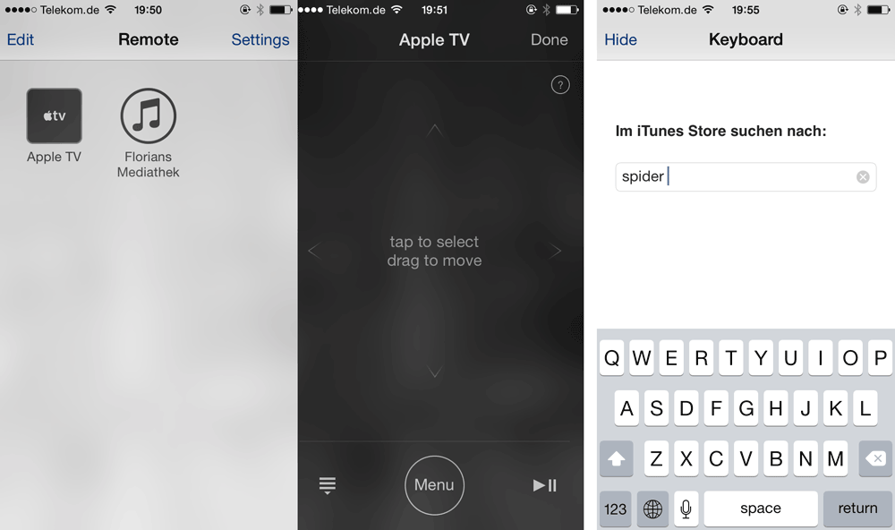 Remote App for controlling Apple TV and iTunes | Streaming Blog